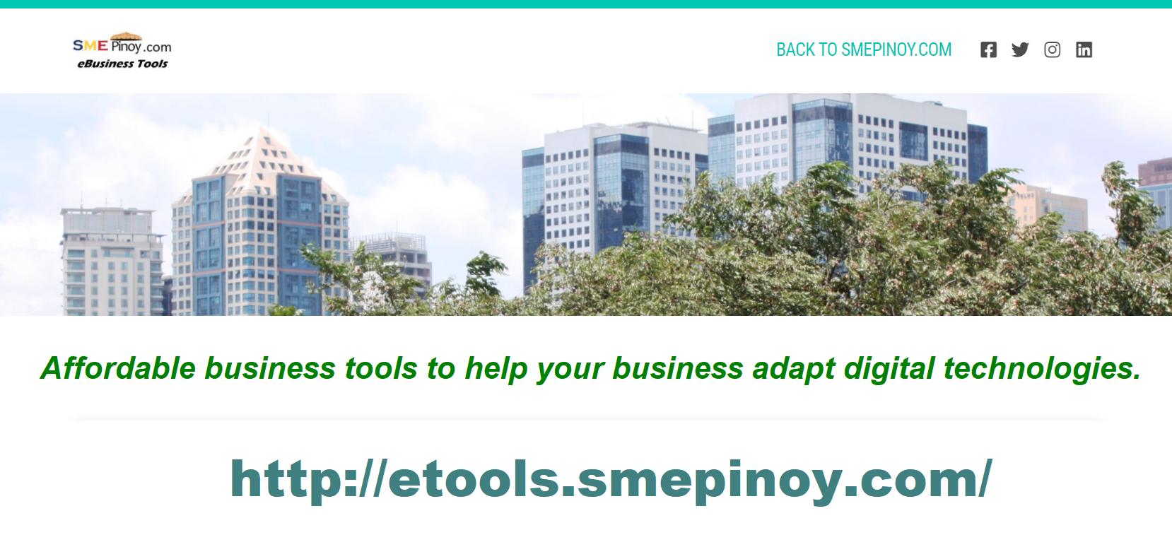 smepinoy etools ad