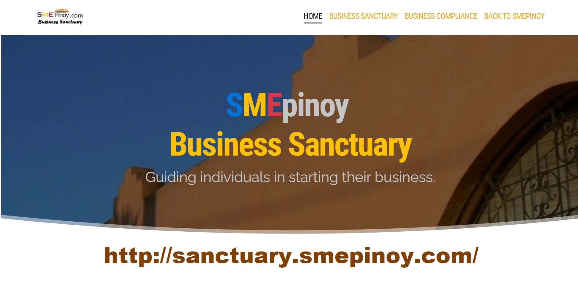 smepinoy santuary ad